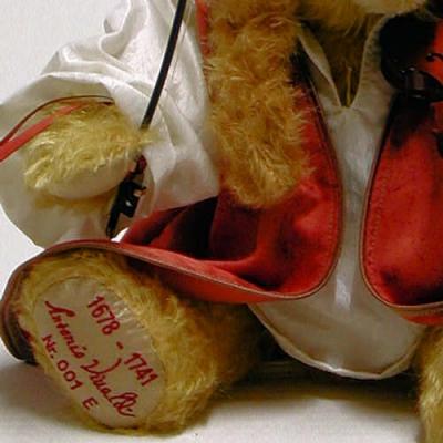 Antonio Vivaldi Teddy Bear by Hermann-Coburg