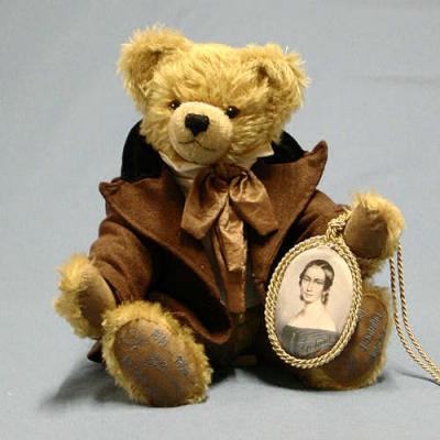 Robert Schumann Teddy Bear by Hermann-Coburg