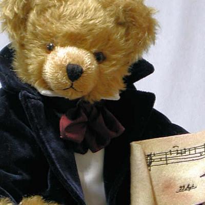 Frédéric Chopin Teddy Bear by Hermann-Coburg