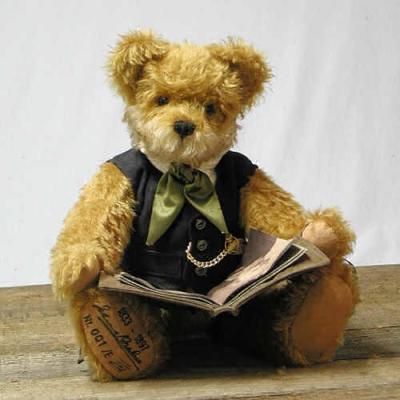 Johannes Brahms Teddybär von Hermann-Coburg