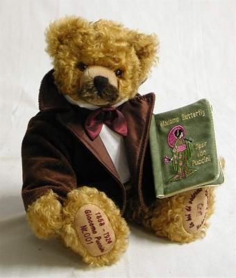 Giacomo Puccini Teddybär von Hermann-Coburg