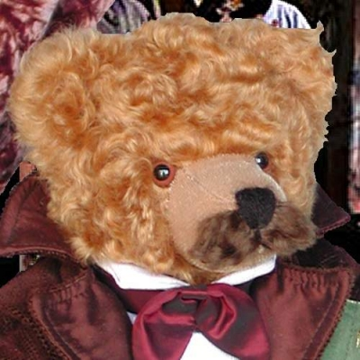 Giacomo Puccini Teddy Bear by Hermann-Coburg