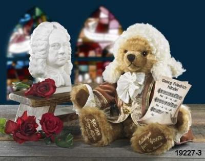 Georg Friedrich Händel  Teddy Bear by Hermann-Coburg