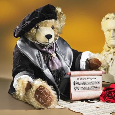 Richard Wagner Teddy Bear by Hermann-Coburg