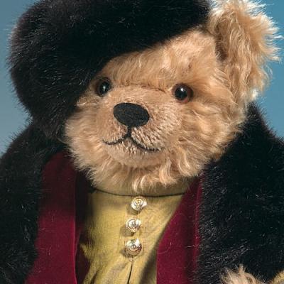Peter Tchaikovsky Teddy Bear by Hermann-Coburg