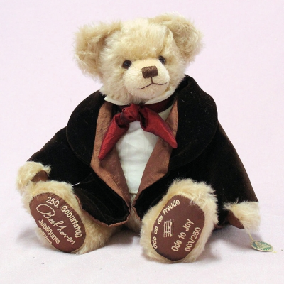 Ludwig van Beethoven - Jubiläums-Edition 2020 38 cm Teddy Bear by Hermann-Coburg
