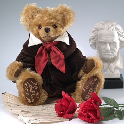 Ludwig van Beethoven Teddy Bear by Hermann-Coburg