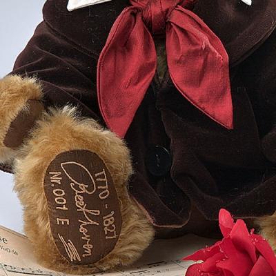 Ludwig van Beethoven Teddy Bear by Hermann-Coburg