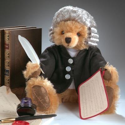 Johann Sebastian Bach Teddy Bear by Hermann-Coburg