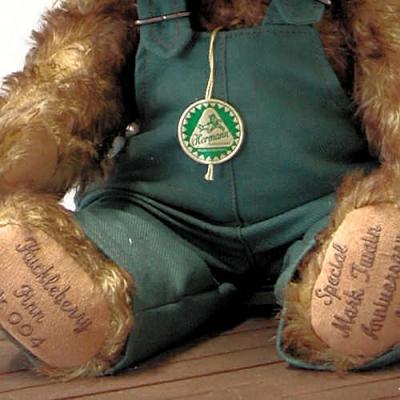 Huckelberry Finn Teddy Bear by Hermann-Coburg