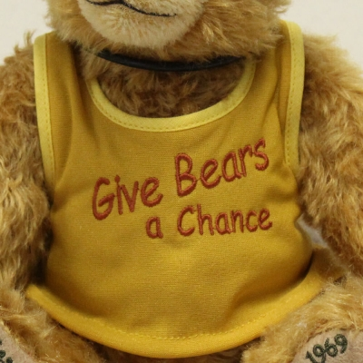 Woodstock  50th Anniversary 1969 - 2019   32 cm Teddy Bear by Hermann-Coburg
