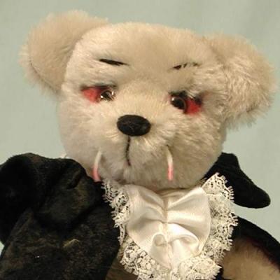 Graf Dracula Teddy Bear by HERMANN-Coburg