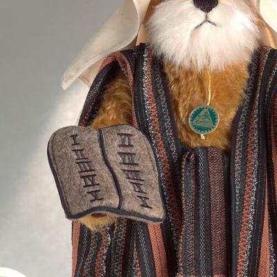 Moses Teddy Bear by Hermann-Coburg