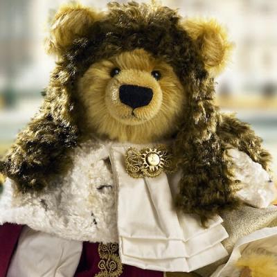 Ludwig XIV  Der Sonnenkönig Teddy Bear by Hermann-Coburg