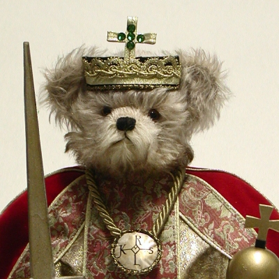 Charlemagne Teddy Bear by Hermann-Coburg