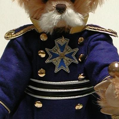 Otto von Bismarck 40 cm Teddy Bear by Hermann-Coburg
