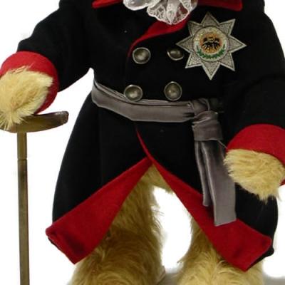 Der alte Fritz  Teddybär von Hermann-Coburg