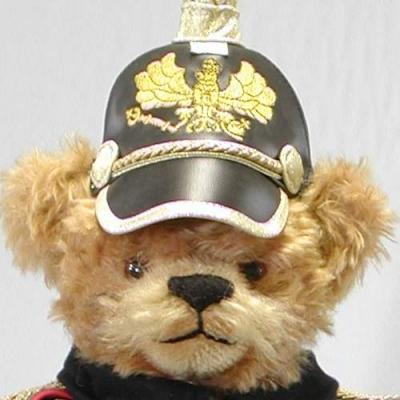 Kaiser Wilhelm II  Teddybär von Hermann-Coburg