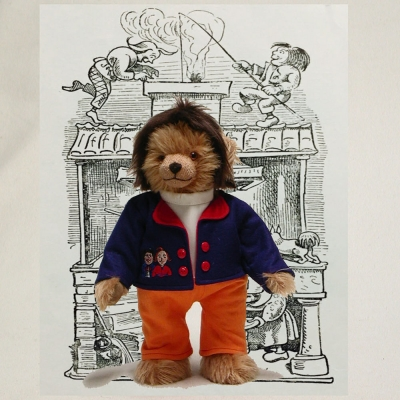 Max – Jubilee Edition 32 cm Teddy Bear by Hermann-Coburg