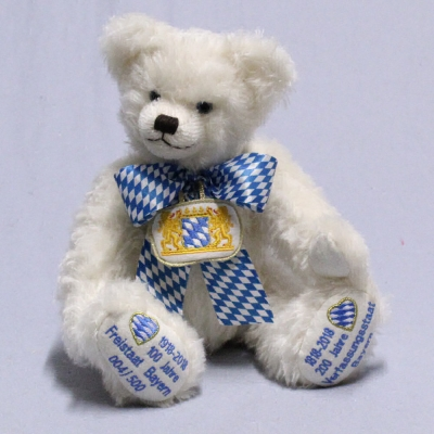 We celebrate Bavaria – Jubilee Bear 36 cm Teddy Bear by Hermann-Coburg