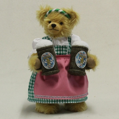 Oktoberfest Wiesn-Wirtin 35 cm Teddybär von Hermann-Coburg