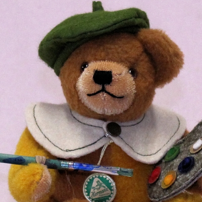 Little Autumn Elf  18 cm Teddy Bear by Hermann-Coburg