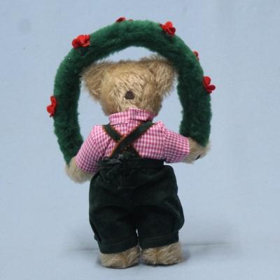 Bavarian Oktoberfest Folklore Boy Joschi 26 cm Teddy Bear by Hermann-Coburg