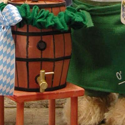 Oktoberfest Wiesnwirt Ozapft is  Teddybär von Hermann-Coburg