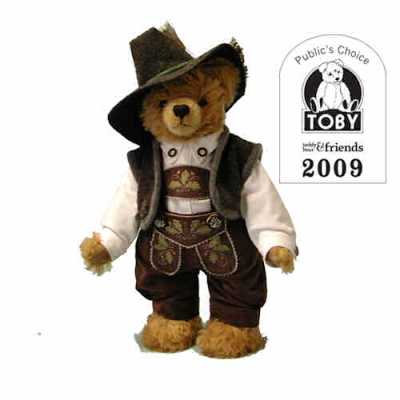 Old Bavarian Bear  Teddybär von Hermann-Coburg