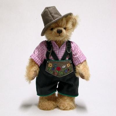 Wiesn-Sepp Oktoberfest Teddy BearTeddy Bear by Hermann-Coburg