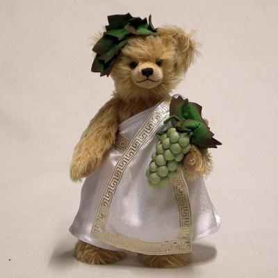 God of Wine – Bacchus 34 cm Teddy Bear by Hermann-Coburg