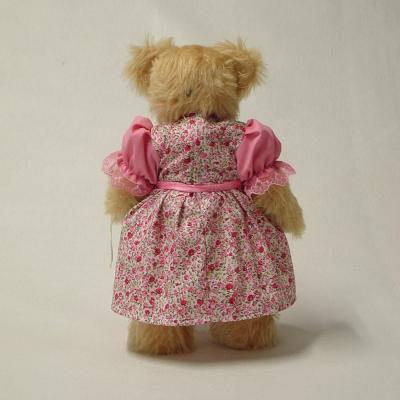 Rosenkönigin 35 cm Teddy Bear by Hermann-Coburg