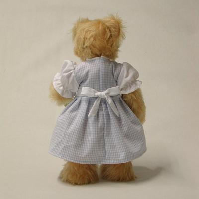 Zwiebelmuster-Liesel 35 cm Mohair  Teddybär von Hermann-Coburg
