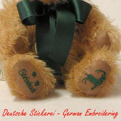 Capricorn Star Sign Teddybear Star Sign Teddy Bear