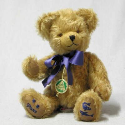 Pisces Star Sign Teddybear Star Sign Teddy Bear