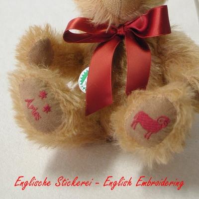 Aries Star Sign Teddybear Star Sign Teddy Bear