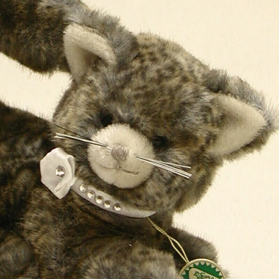 Little Princess Cat Teddy Bear by Hermann-Coburg