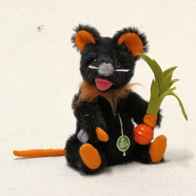 Eine kleine Halloween Maus 19 cm  by Hermann-Coburg