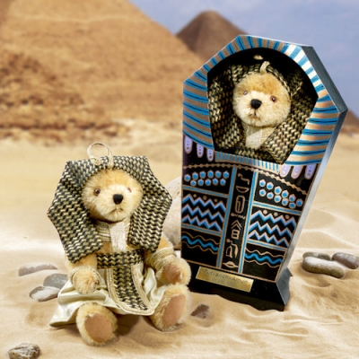 Tut-anch-Amun Teddy Bear by Hermann-Coburg