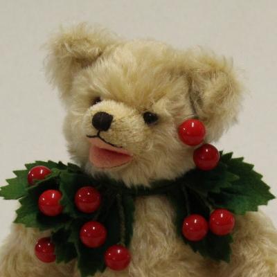 My Sweet Cherry 33 cm Teddy Bear by Hermann-Coburg
