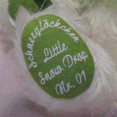 Little Snow Drop 34 cm Teddy Bear by Hermann-Coburg