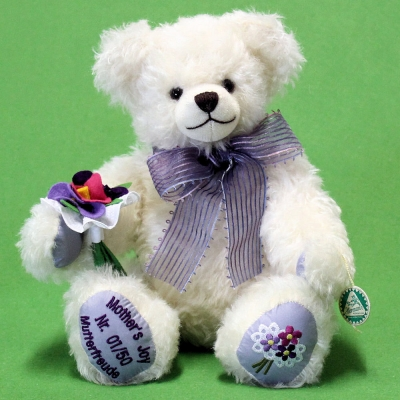 A Mothers Joy Mutterfreude 33 cm Teddy Bear by Hermann-Coburg