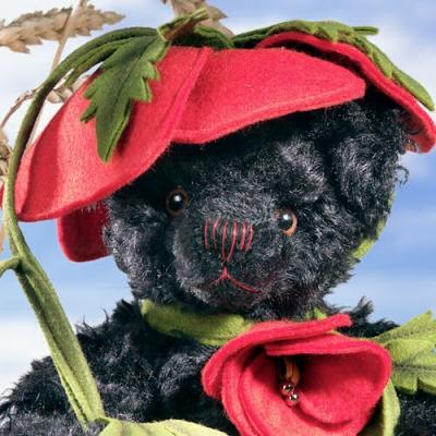 Poppy Bear Teddy Bear by Hermann-Coburg