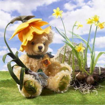 Osterglocke - Daffodil Teddybär von Hermann-Coburg