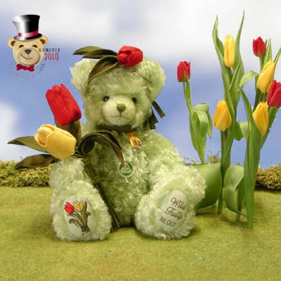 Wild Tulip  Teddy Bear by Hermann-Coburg