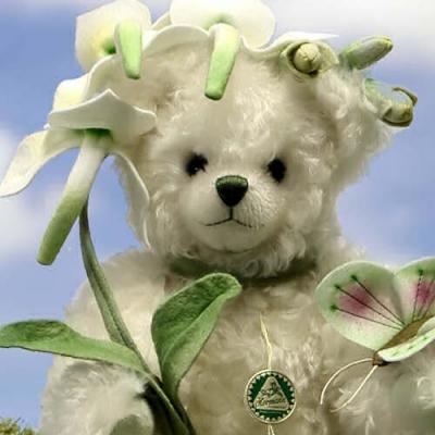 Butterfly Orchid - Waldhyazinthe Teddybär von Hermann-Coburg
