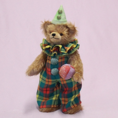 Spaßmacher Clown-Beblino 33 cm Teddy Bear by Hermann-Coburg