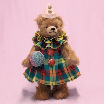 Clownelinchen Sweet Bebolina 33 cm Teddy Bear by Hermann-Coburg