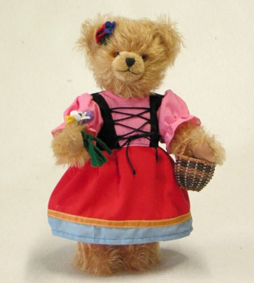 Gretel Teddy Bear by Hermann-Coburg