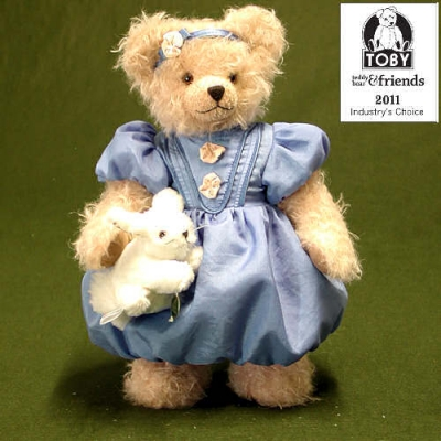 Alice in Wonderland Teddybär von Hermann-Coburg